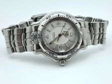 TAG Heuer Professional WH1113-K1 Silver Dial 42mm Stainless Steel DIVER SERVICED