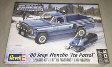 Revell 80 Jeep Honcho Ice Patrol Pickup 1:24 model car truck kit new 7224
