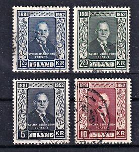 Island - MiNr 281-284 - komplett