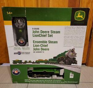 LIONEL O Scale John Deere Lionchief Remote Control Train Set NOT COMPLETE
