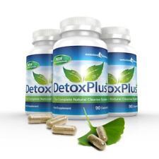 DetoxPlus Colon Cleanse natural pérdida de peso 270 cápsulas Evolution Slimming