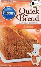 Pillsbury Pumpkin Quick Bread and Muffin Mix - 14 oz (Pack of 6)