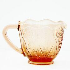 VINTAGE Rosa bricco latte in vetro
