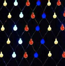 Multi 180 LED Berry Net Lights String Fairy Window Curtain Xmas In/Outdoor 19346