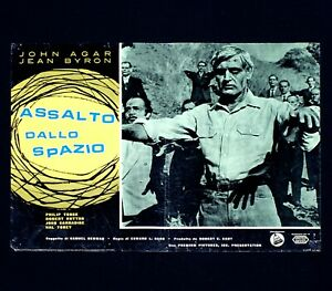 ASSALTO DALLO SPAZIO fotobusta poster Invisible Invaders Sci-fi Horror Zombi F14