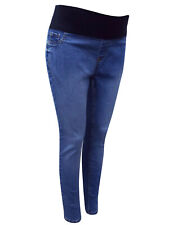 Ladies New Look Denim Under Bump Skinny Stretch Maternity Jegging Jeans Sze 8-18