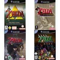 Nintendo GameCube - Best of The Legend of Zelda Spiele - Zustand auswählbar