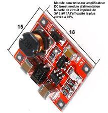 convertisseur amplificateur DC carte de circuit imprimé de 3V à 5V 1A   .C91.1