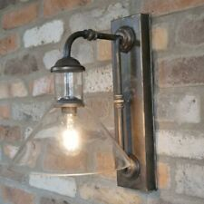 Industrial Wall Light Battery Operated Indoor Lighting Wireless Retro Lamp New
