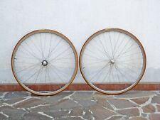 "CAMPAGNOLO Record / FIAMME Speedy Pista Track Wheels - 700c 28"" - NOS"