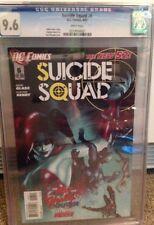 Suicide Squad # 6 2012 Harley Quinn Origin CGC 9.6