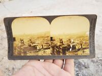 Keystone View Co Montreal From New York Life Building Canada Historic Photograph