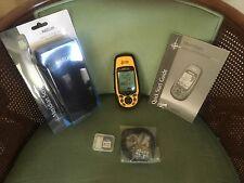 Magellan Meridian Yellow Handheld/s GPS Receiver -- Be Safe--World Ship