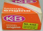 K&B 40 Quicky 500 Perry carburetor Perry pump New in Box model airplane engine