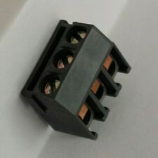 (10 Pack) 3-Pin Terminal Block, 5mm Pitch, PCB Mount, Straight