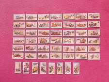 Motor Cars/Bikes Reproduction Collectable Cigarette Cards