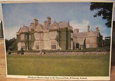 Irish Postcard MUCKROSS HOUSE Demesne Killarney Kerry Ireland Mac Series 4x6