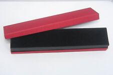 Geschenkbox, Aufbewahrungsbox Gift-Box Schmuck-Box schwarz-rot 218 x 47 x 34 mm