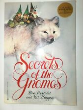 Secrets of the Gnomes book Rien Poortvliet and Wil Huygen