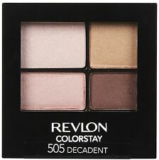 REVLON COLORSTAY 16 HOURS EYE SHADOW QUAD 505 DECADENT OMBRETTI
