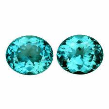 Loose Gemstone - Apatite Matching Pair 2.43 ct Total