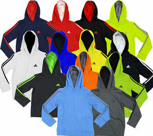 Adidas Youth Game Time Pullover Fleece Hoodie, Color Options