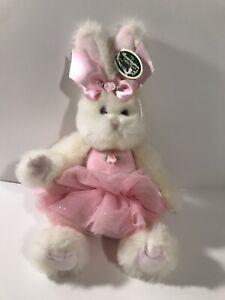 "Bearington Bears BUNNI Ballerina Bear 10"" Stuffed Animal #420333 With Tags (w)"