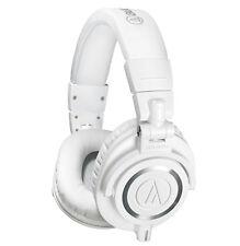 Audio-Technica ATH-M50xWH Professional Monitor Headphones ATH-M50x (White)
