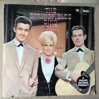 THE SPRINGFIELDS SING AGAIN  VG+/EX+ VINYL LP 1962