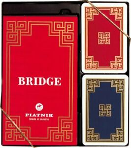 Piatnik President Bridge set - NEW - Cards - Scorebook
