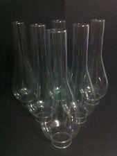 0144 Lume a petrolio  in vetro n*6 ricambi glass verrè bocce diam. inf. 5 cm