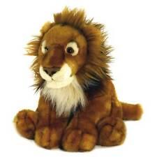African Lion 40cm Medium Plush Soft Toy Teddy Cuddly Big Cat Plushie