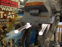 Star Wars Vintage AT AT Walker Chin Guns Laser cannons 1x Pair Imitation