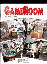 GameRoom Magazine Miniature Pinball Coin Op March 1996