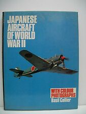 Japanese Aircraft of World War II by Basil Collier (Hardback, 1979)