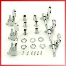 Chrome Guitar Tuning Pegs Machine Heads 3R+3L Set