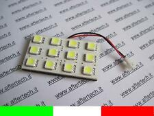 PANEL 12 LED SMD5050 BLANCO 6000K T10 BA9S SILURO L1