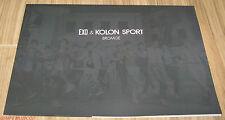 EXO K-POP KOLON SPORT BROMIDE & BOOKMARK NEW