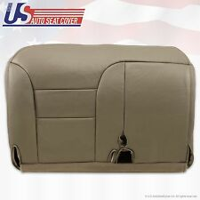 "1995 - 2000 Chevy K1500 K2500 K3500 Driver Bench Seat Cover ""Tan"" 60/40 split"