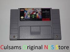 ORIGINAL SUPER NINTENDO SNES Jim Power: The Lost Dimension in 3D CLEAN & TESTED
