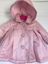 3af1a3569aae0a Ted Baker Baby Girls Raincoat Jacket Mac Dusky Pink Rose Gold Designer 3-6 M
