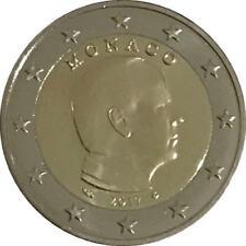 Pièces euro de Monaco pour 2 euro année 2017