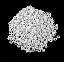 100PCS TO-220 White Transistor Plastic Washer Insulation Washer Transistor