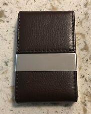 Pocket Businese Card Holder Case Pu Leather