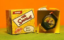 "Simpsons - 2002 Talking Watch - Burger King Collectible ""Mmmm Burger"" Boxed"