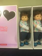 NIB American Girl twins --- boy dolls.  brown hair and eyes
