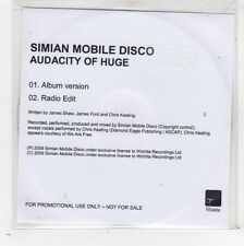 (FW577) Simian Mobile Disco, Audacity of Huge - 2009 DJ CD
