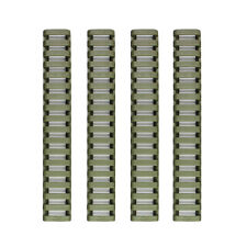 4 Heat Resistant Rifle Handguard Weaver Picatinny Ladder Rail Cover / OD GREEN