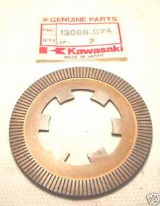 KAWASAKI MT1 KV75 NOS Friction Clutch Plate