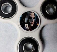 White Fidget Spinner Joker Heath Ledger print Free Shipping In Stock See Pics!!